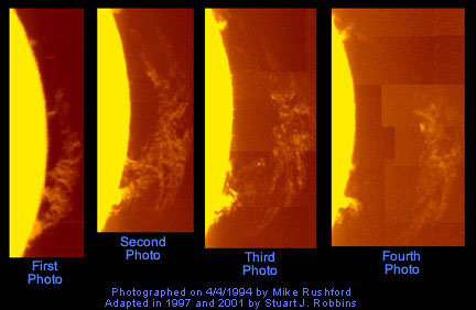 Solar Flare Sequence